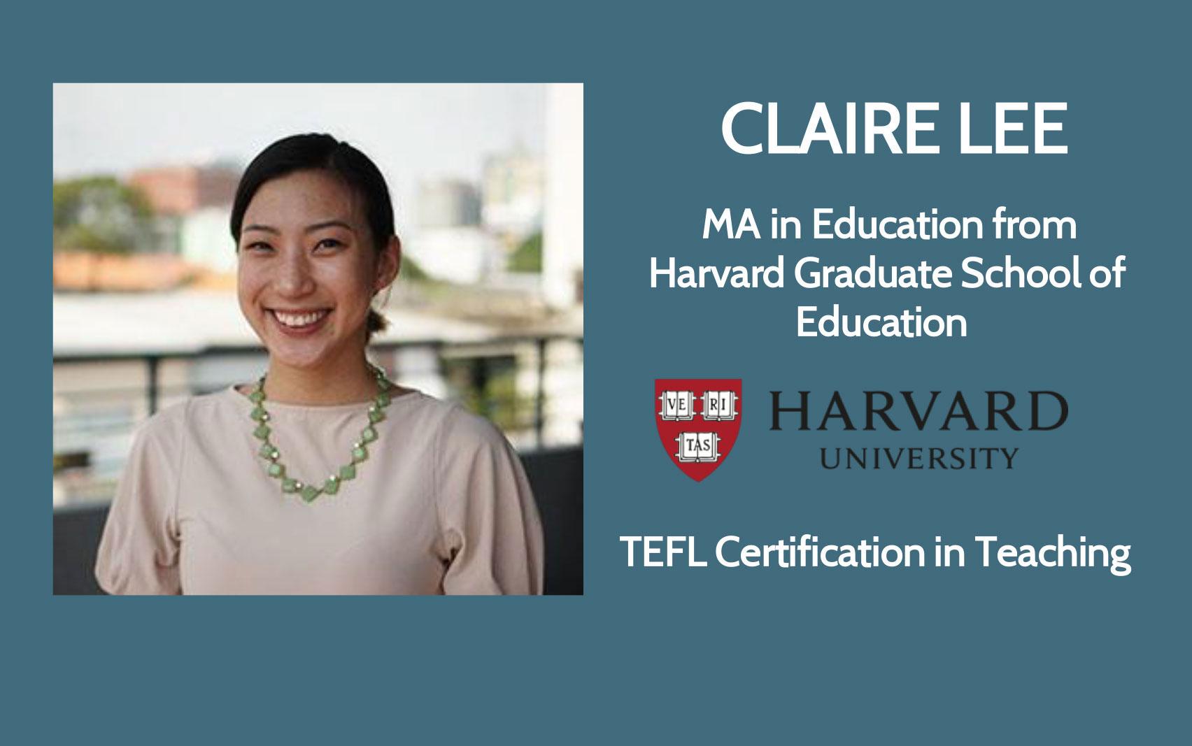 Claire Lee - Harvard University